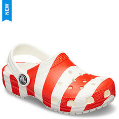 Crocs™ Classic American Flag Clog (Kids Infant-Toddler-Youth)