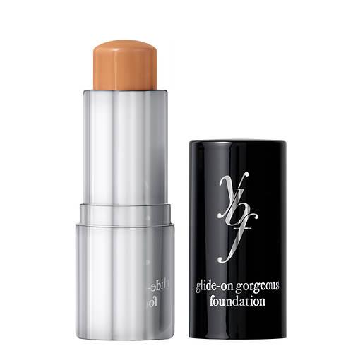 YBF Glide-On Foundation Stick+Brush