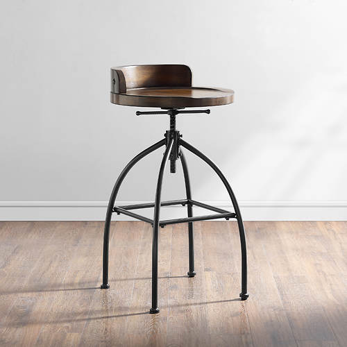 Edison Adjustable Height Stool