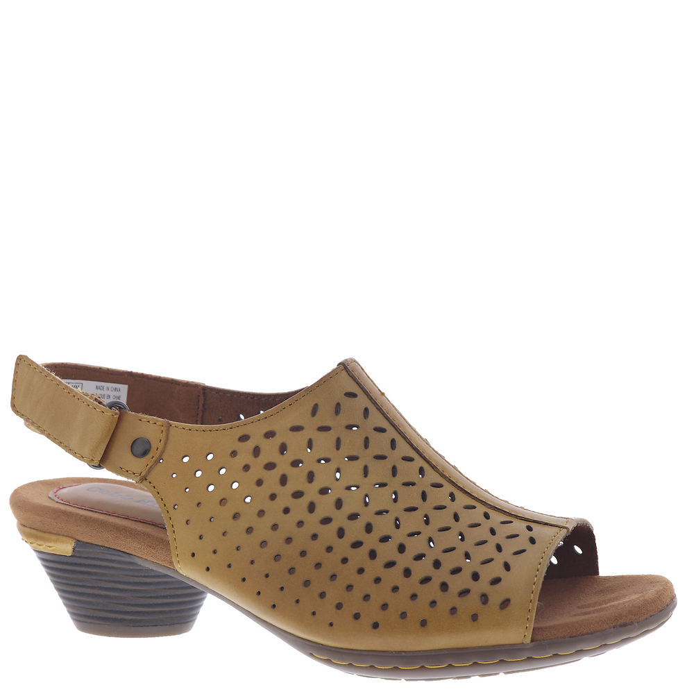 *Leather upper with perf detailing *Hook-and-loop closure *Microfiber lining *Lightly cushioned footbed with microfiber cover *Steel shank maintains shoe shape and protects foot *TPR sole *1-5/8\