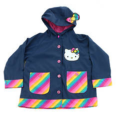 Western Chief Girls' Hello Kitty Rainy Bow Raincoat
