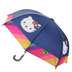 Western Chief Girls' Hello Kitty Rainy Bow Unbrella