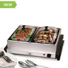 Elite Dual 2.5-Quart Electric Buffet Server