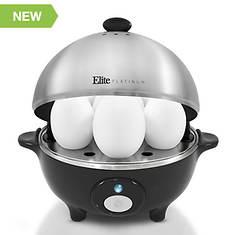 Elite Egg Cooker with Egg Tray & Lid