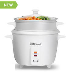 Elite 16-Cup Rice Cooker with Steam Tray