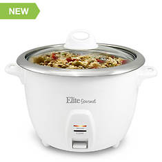 Elite 10-Cup Rice Cooker with Stainless Steel Pot