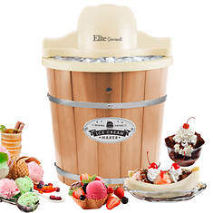 4-qt. Pine Bucket Ice Cream Maker
