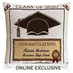 Personalized 2020 Graduation Pillow