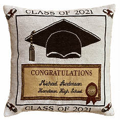 Personalized 2021 Graduation Pillow