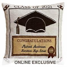 Personalized 2021 Graduation Pillow