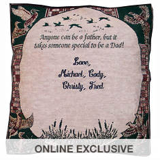 Personalized Father Pillow