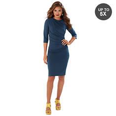 Side Shirred Dress