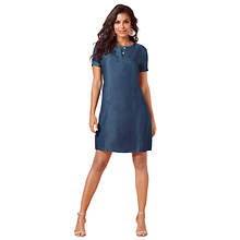 Woven Dress With Pockets