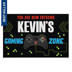 Personalized Video Gamer Floor Mat