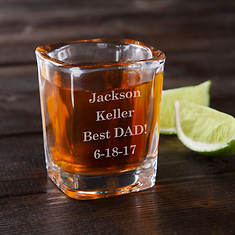 Personalized You Name It Shot Glass