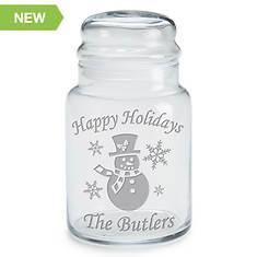PZ Christmas Time Treat Jar