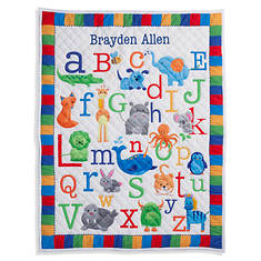 Personalized ABC Quilt