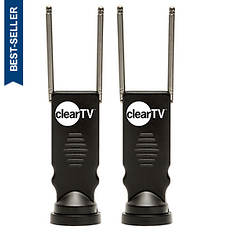 Clear TV 2-Pack Antennas