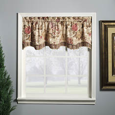 Collette Double-Layer Valance