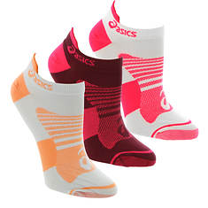 Asics Women's Quick Lyte Plus 3-Pack Low Socks