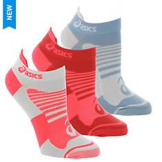 Asics Women's Quick Lyte Plus 3-Pack Low Socks