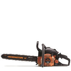 """Remington 18"""" Gas Chainsaw With Case"""