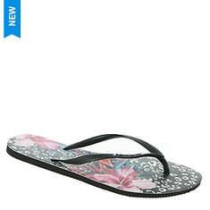 Havaianas Slim Animal Floral Sandal (Women's)