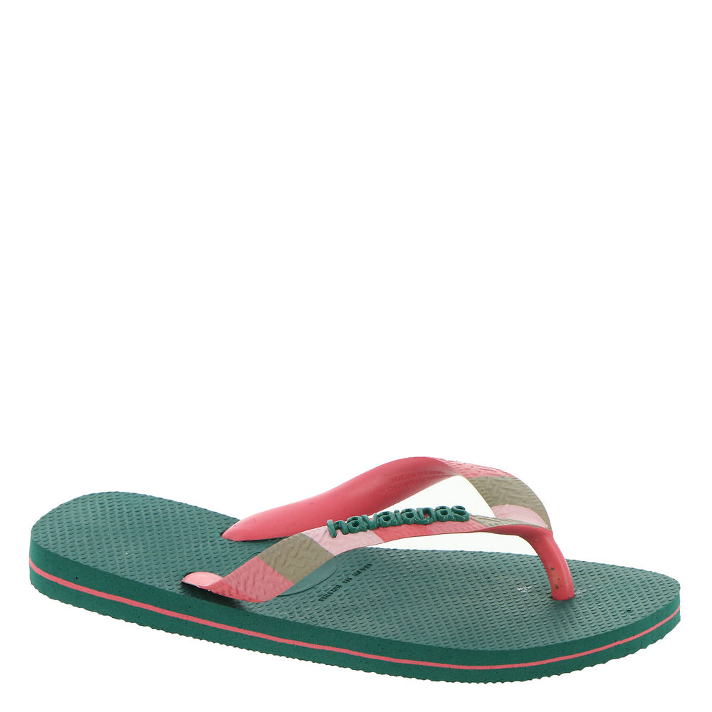 *Rubber upper with multi-colored straps *Easy slip-on styling *Lightly cushioned footbed *Available in whole sizes only half sizes please order the next size up