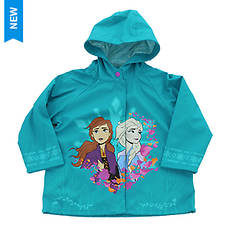 Western Chief Girls' Frozen Fearless Sisters Rain Coat
