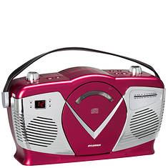 Sylvania Retro Boombox with LCD Screen