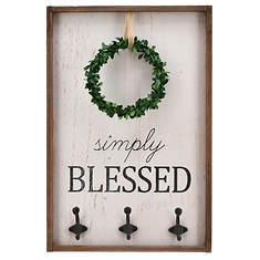 Wooden Wreath Signs