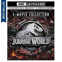 Jurassic World 5-Movie Collection (4K-Ultra HD)