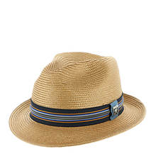 Stacy Adams Poly Braid Fedora Zipper Band