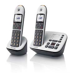 Motorola Call Block Cordless Phone with 1 Handset