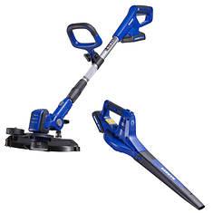 Badger 20V Trimmer/Edger/Blower/Sweeper Combo