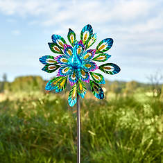 2-in-1 Peacock Windspinner