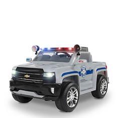 Chevy Silverado Police Truck