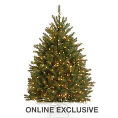 4.5' Dunhill Fir Tree with Lights