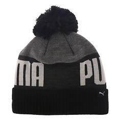 Puma Men's Marshall Cuff Pom Beanie