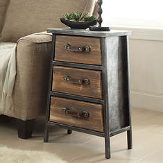 Urban Collection 3-Drawer Chest