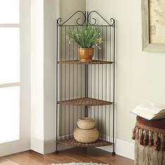 Farmington 3-Tier Corner Shelf