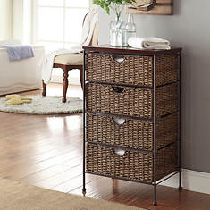 Farmington 4-Drawer Chest with Wood Top