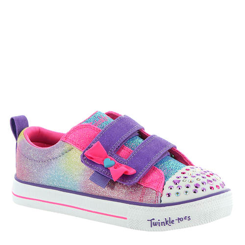 Skechers TT Shuffle Lites-Sweet Supply (Girls' Infant-Toddler)