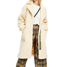 Free People Women's Tessa Teddy Coat