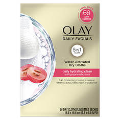 Olay Daily Facials Cleansing Cloths Daily Hydrating Clean