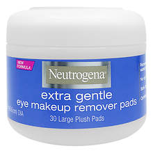 Neutrogena 30-Count Gentle Eye Makeup Remover Pads