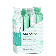 Patchology Clean AF Facial Cleansing Wipes 4-Pack