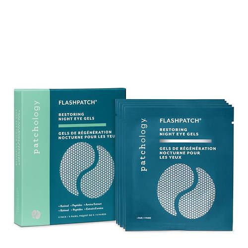Patchology 5-Pair FlashPatch Restoring Night Eye Gels