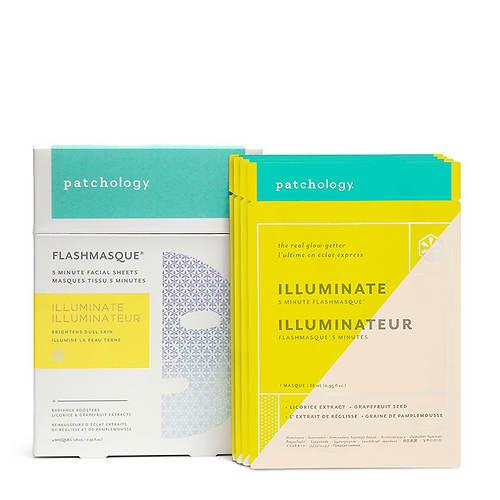 Patchology FlashMasque Illuminate 5-Minute Sheet Mask 4-Pack