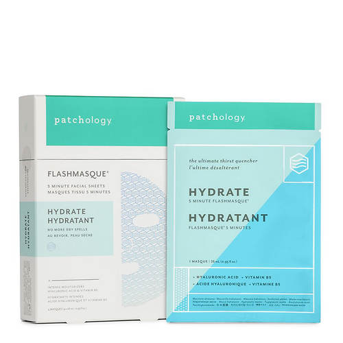 Patchology FlashMasque Hydrate 5-Minute Sheet Mask 4-Pack